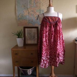 Urban Renewal Printed Smock Dress